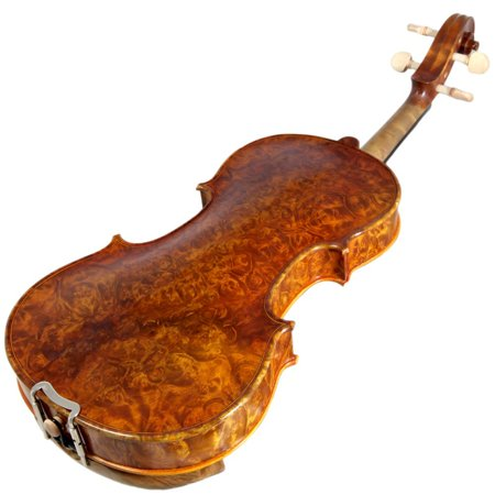 Sky 4/4 Full Size NY100 Bird's Eye Vintage Violin Guarantee Grand Mastero Sound Professional Hand-Made Hand-Crafted Acoustic Violin