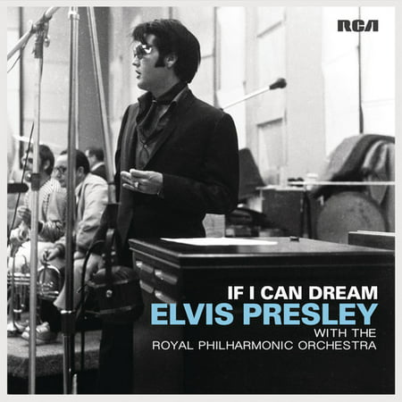 If I Can Dream: Elvis Presley With Royal Philharmo (Vinyl) - Elvis Presley Party Supplies