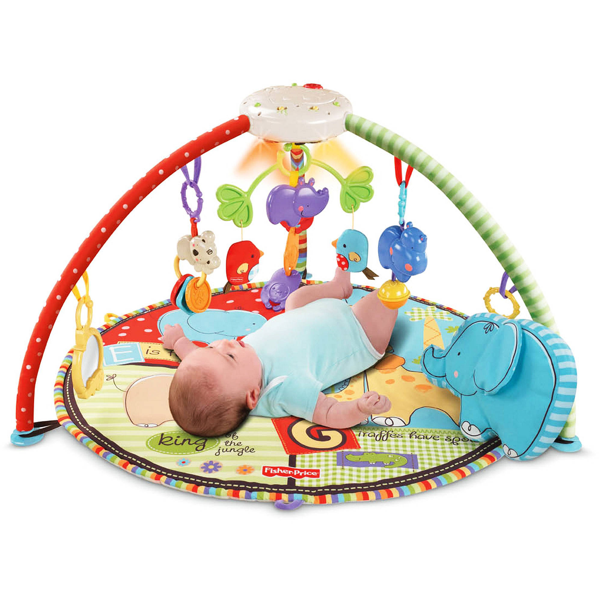 Fisher-Price - Luv U Zoo Deluxe Musical Mobile Gym