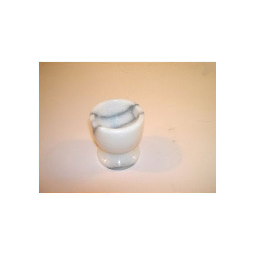 Creative Home White Marble Egg Cup (Set of 4)