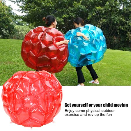 Bumper,Zerone 2pcs Wearable Inflatable Bubble PVC Funny Body Ball for Outdoor - Balls Funny