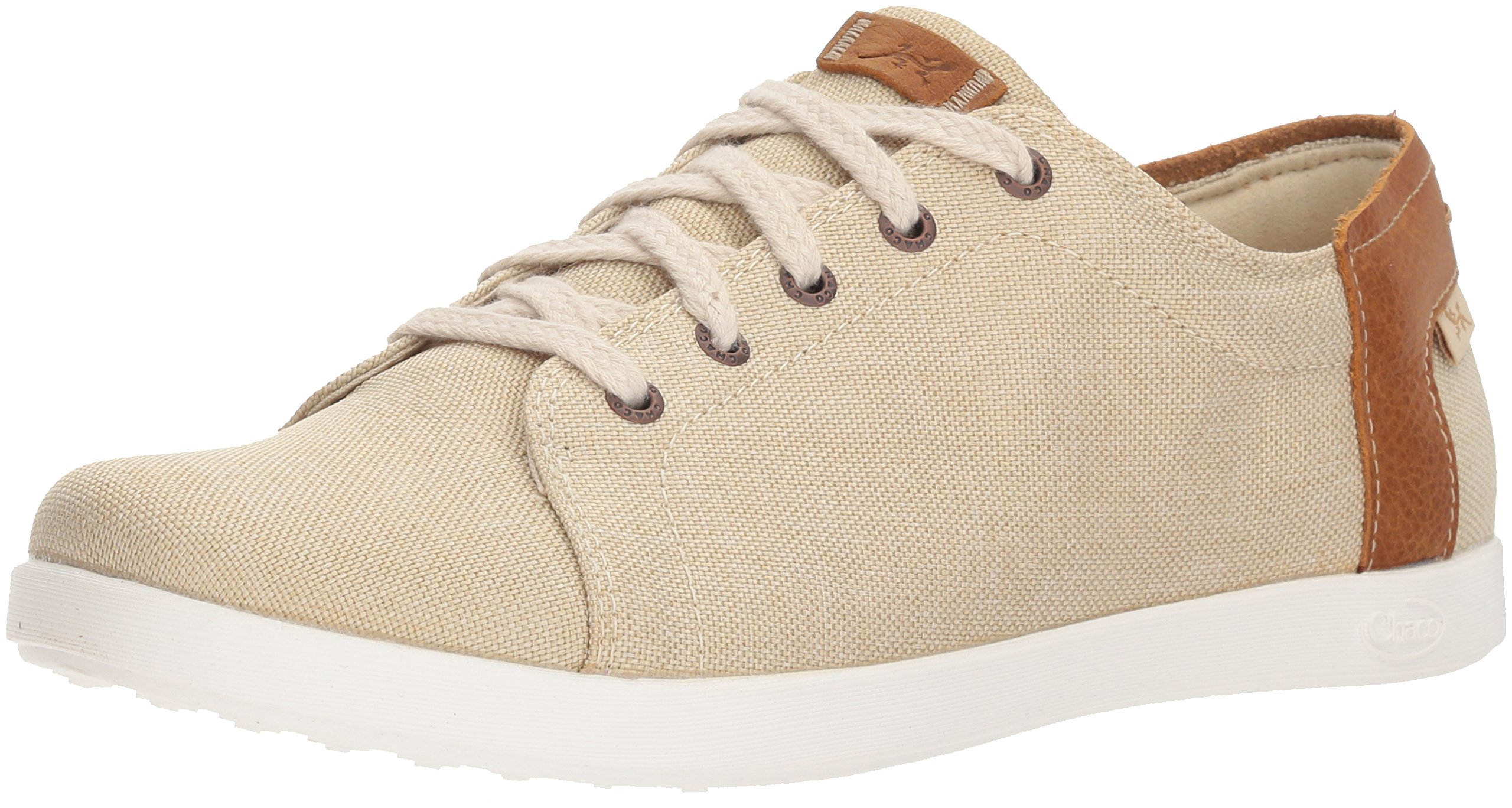 Chaco Women's Ionia Lace Loafer Flat, Sand, 8 Medium US by Chaco
