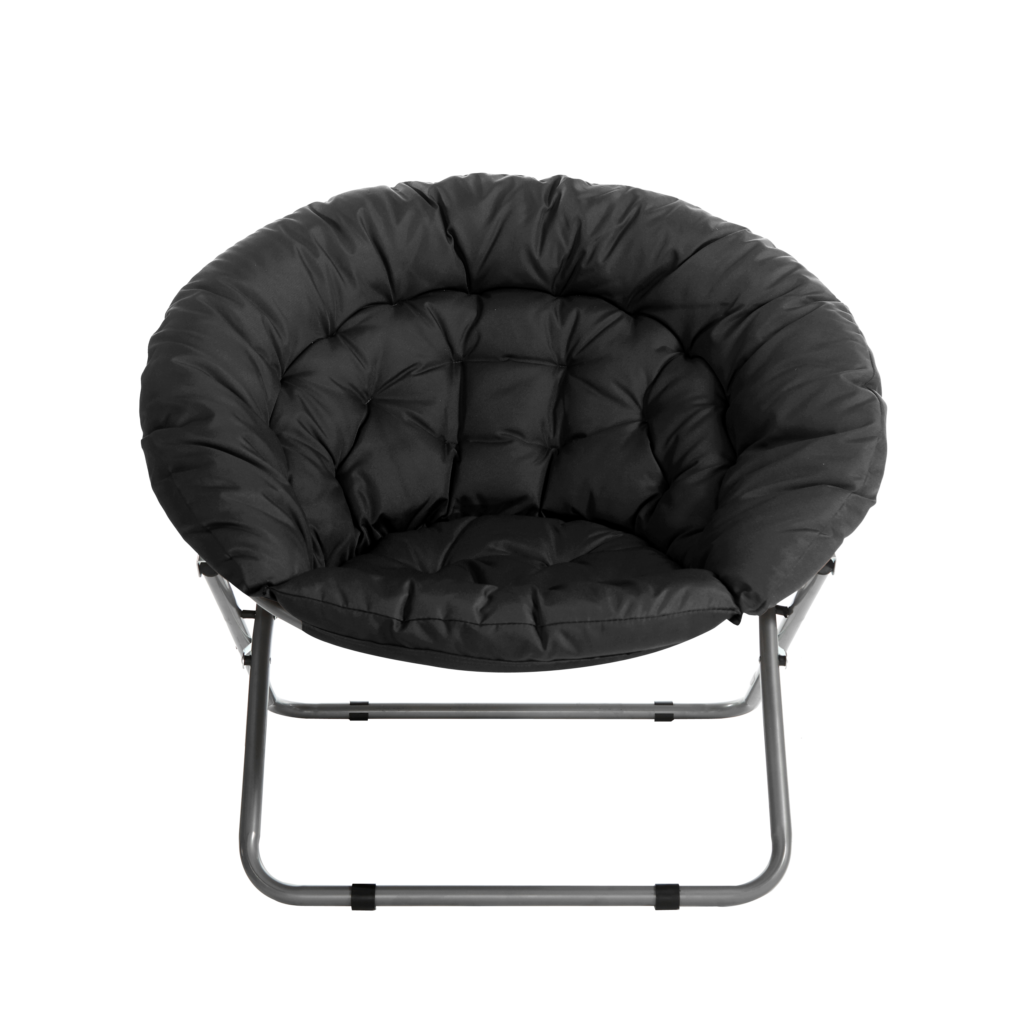 Urban Shop Oversized Moon Chair Available In Multiple Colors Walmart Com Walmart Com