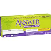 Answer™ Pregnancy Test 2 ct Box