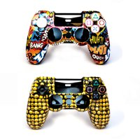 Arsenal Gaming Snap-on Cases for PS4 Controller: Action and Emoji Designs