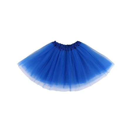 Womens Ballerina Tutu Adult Halloween Costume Accessory,Royal Blue - Dead Ballerina Halloween Costumes