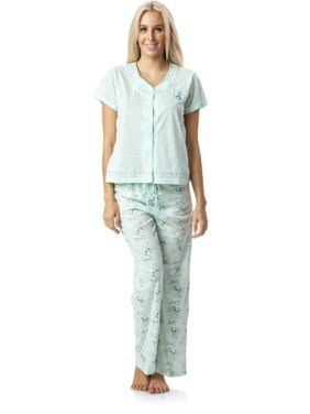 3df786844a6 Product Image Casual Nights Women's Pointelle Short Sleeve Pajama Set