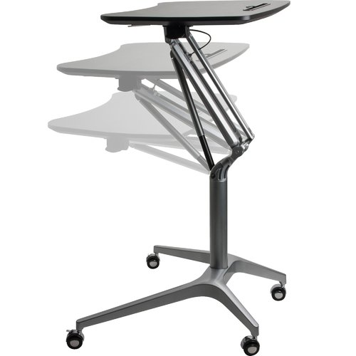Lorell Adjustable Laptop Cart