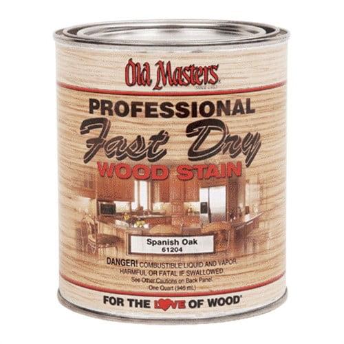 60204 Qt Fast Dry Wood Stain - Golden Oak
