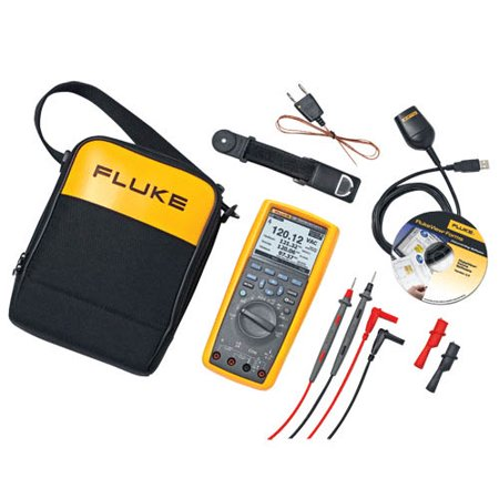 Fluke 289/FVF True-RMS Industrial Logging Multimeter Combo Kit with FlukeView