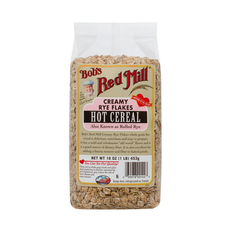 Image of (4 Pack) Bobs Red Mill Creamy Rye Flakes, 16 Oz