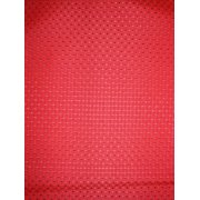 Antigua Ottoman in Royal Oak-Fabric:Red Squares