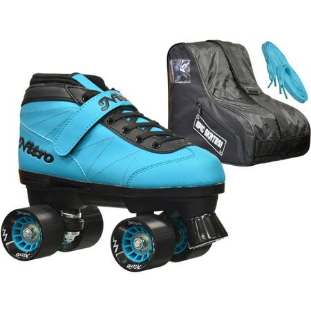 Epic Nitro Turbo Blue Speed Roller Skates Package