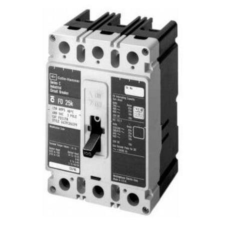 Eaton Cutler Hammer HFD3080 3 Pole 80 Amp 600v 65kA Circuit Breaker HFD