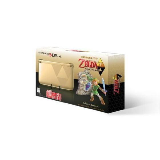 Nintendo 3dsxl Gold Zelda Link Between Worlds Bdl