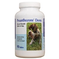 Proanthozone Derm Chewable Tablets for Dogs (90 count)