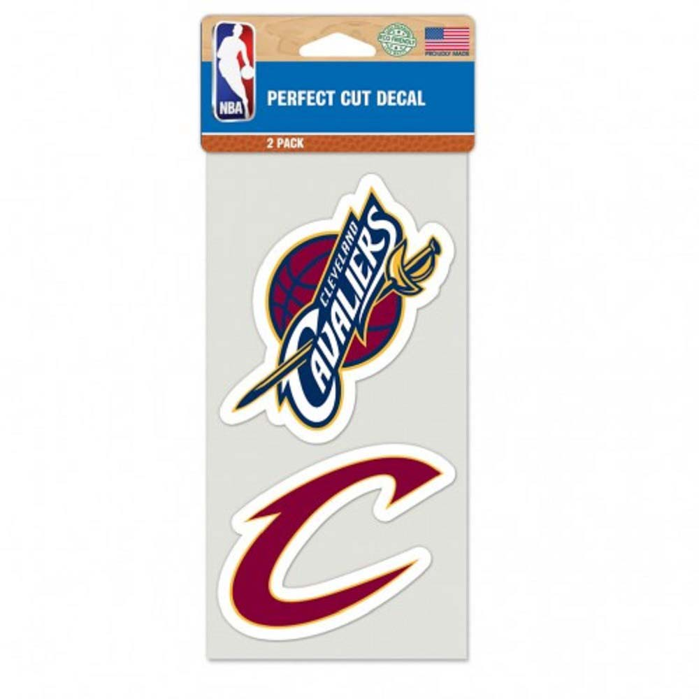 Cleveland Cavaliers Set of 2 Die Cut Decals