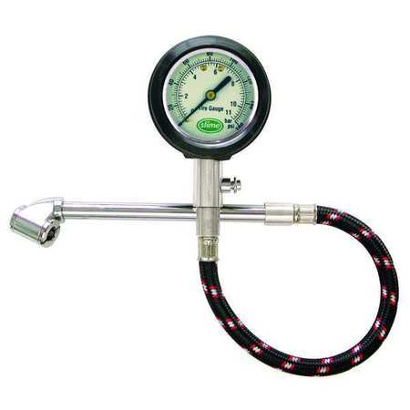 Slime 2020-A 10 to 160 PSI Dually RV Dial Tire Gauge 160 Psi Poly Pipe