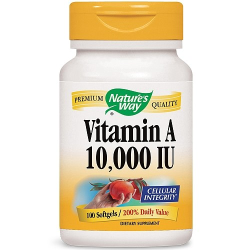 Natures Way Natures Way  Vitamin A, 100 ea