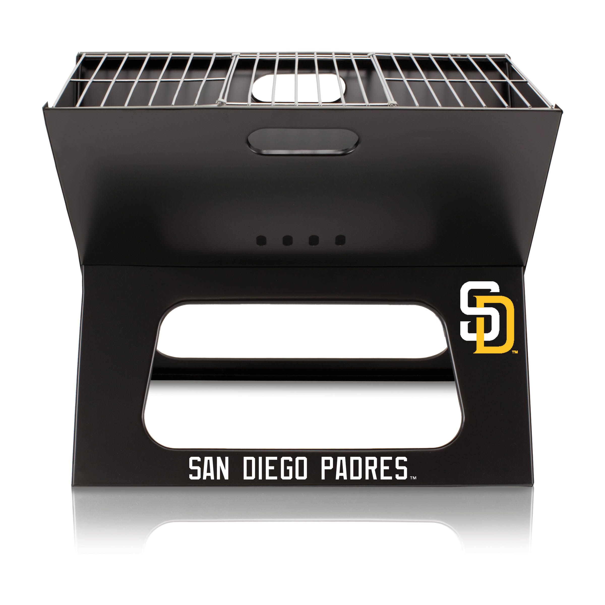 San Diego Padres X-Grill Portable BBQ - No Size