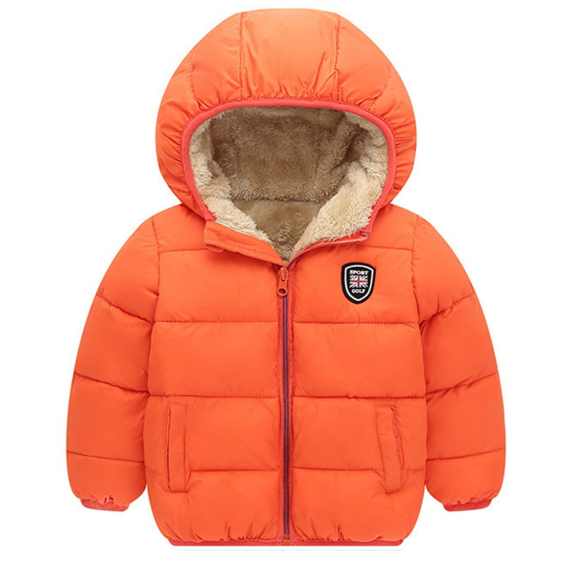 Dolpind Big Girls Thickened Floral Winter Coat Hooded Puffer Down Packable Jacket