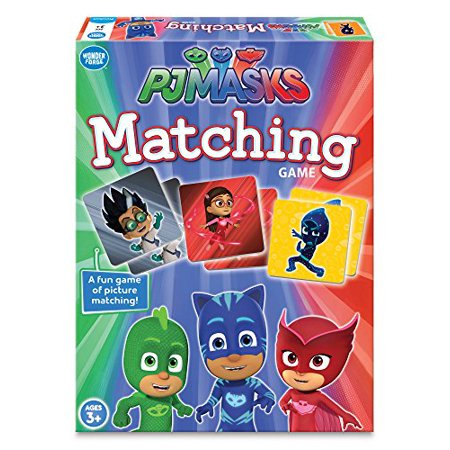 Wonder Forge PJ Masks Matching - Preschool Halloween Matching Games