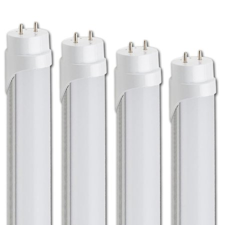 10 Pack 48'' T8 4ft 18W LED Fluorescent Tube Light Bulb G13 T8 lamp fixture
