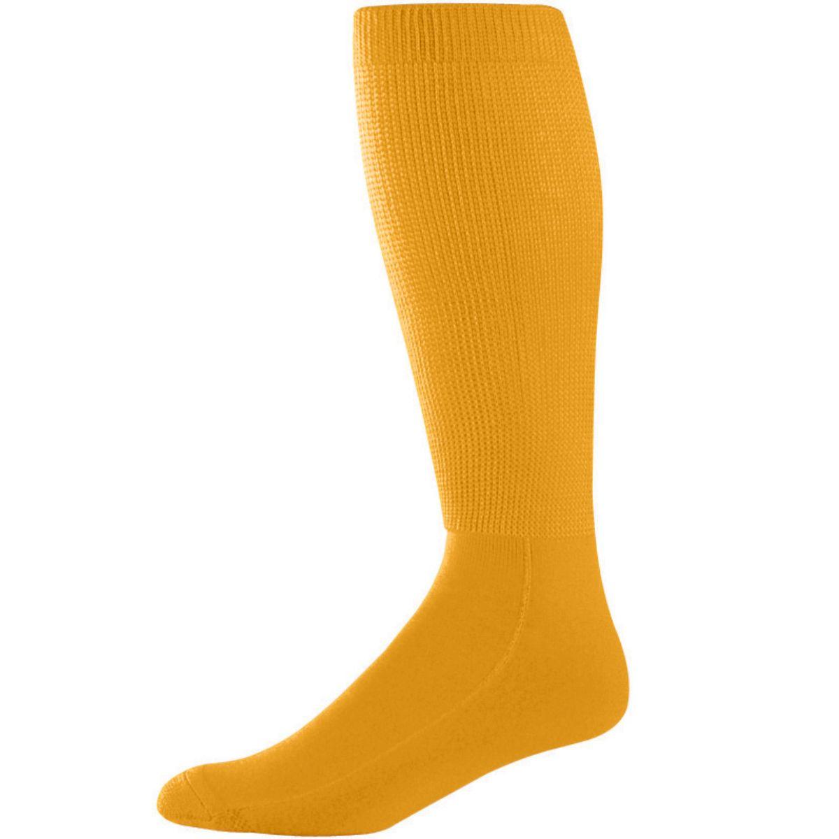 Augusta Wicking Athletic Socks (10-13) Gold 10-13 - image 1 de 1