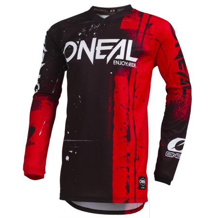ONeal Element Shred Youth Jersey (Red, Medium) - Oneal Youth Element