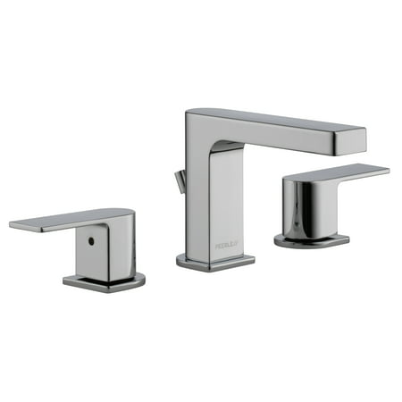 Peerless Xander Two Handle Widespread Bathroom Faucet in Chrome P3519LF Coralais Widespread Bathroom Faucet