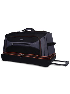 Product Image Coleman 30 Rolling Drop Bottom Duffel Bag 9777b112d91d5