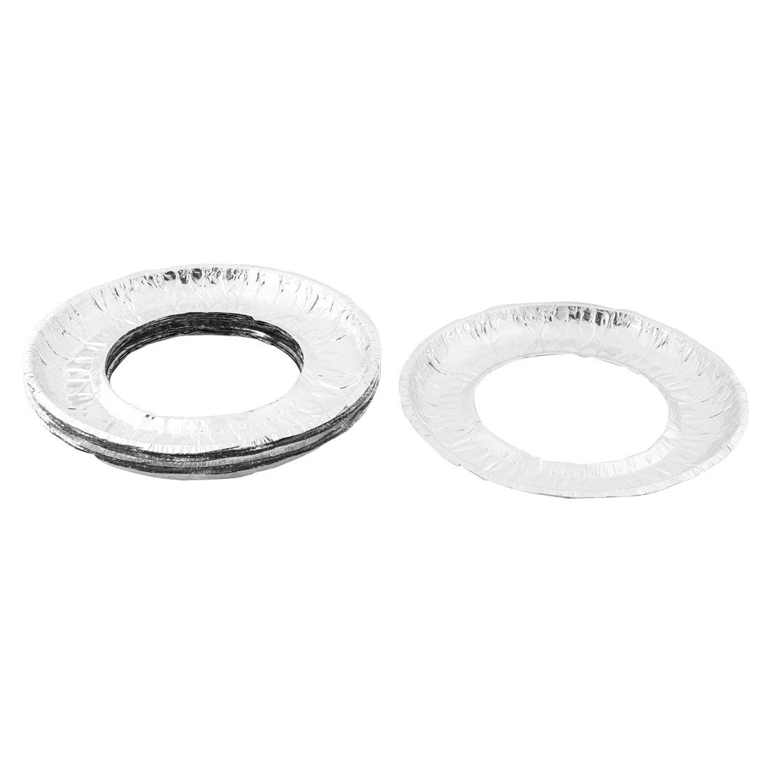 stove liners. home aluminum foil round shaped disposable stove burner bib liners covers 20 pcs i