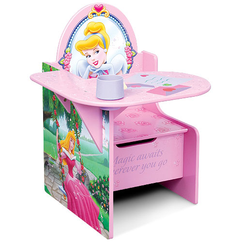 Disney Princess Desk U0026 Chair   Walmart.com