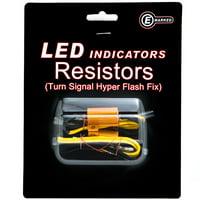 Krator Led Bulb Load Resistors Flash Turn Signal Fix For Kawasaki Coyote Mini Trail Bike 75 90