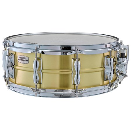 Yamaha Recording Custom Brass Snare Drum 14 x 5.5 (Yamaha Maple Custom Drums)
