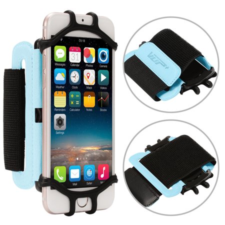 cheap for discount 4bca5 69b96 Sports Running Forearm Armband for Universal Cell Phone Smartphones Arm  Case for Exercise Blue