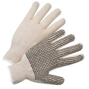 West Chester Glove Size Men's L Cotton/PolyesterKnit Gloves,708SK
