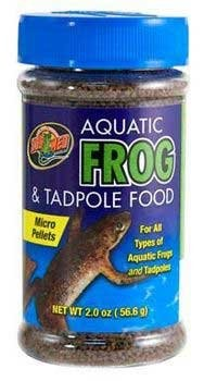 Zoo Med Aquatic Frog & tadpole Micro Pellet Food, 2 Oz by ZOO Med LABORATORIES INC