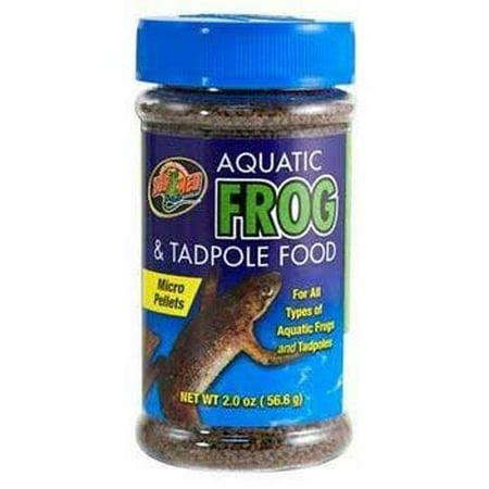 Zoo Med Aquatic Frog & Tadpole - Frog Tadpole Food
