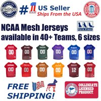 Pets First Collegiate Illinois Fighting Illini Football/Basketball Mesh Jersey for Pet Dog. available in 40+ Teams - XX-Large