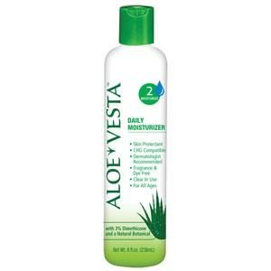 Aloe Vesta Hand and Body Moisturizer 324802, 2 Ounces Single Bottle Unscented