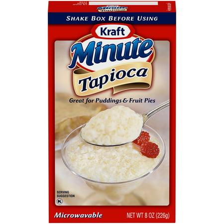 (2 Pack) Kraft Minute Tapioca, 8 oz Box