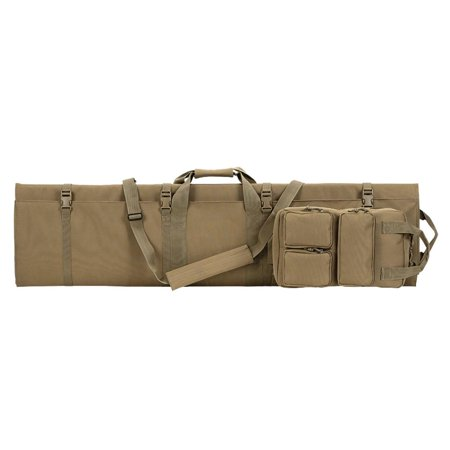 Folding Rifle - Voodoo Tactical 20-0991 Tri-Fold Rifle Case, Removable Gear Bag