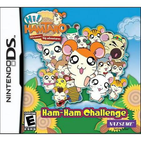 Hi Hamtaro Ham Ham Challenge NDS