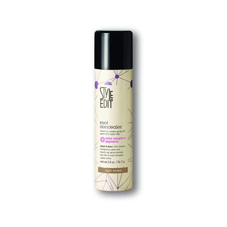 Style Root Lifter - Style Edit Root Concealer Light Brown 2 oz. , PACK OF 1