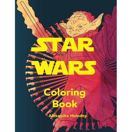 star wars coloring book art therapy stress relief - Walmart Coloring Books