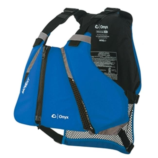 Onyx Outdoor 122000-500-040-16 Onyx MoveVent Curve Paddle Sports Life Vest, Blue - Medium & Large