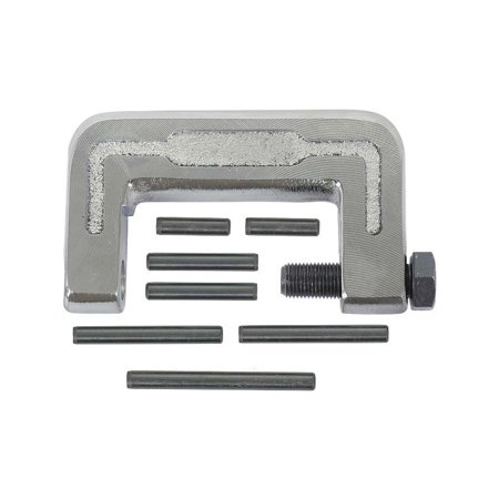 MACs Auto Parts Premier  Products 47-64595 Hinge Pin Removal Tool Kit - Heavy-Duty Forged Steel Body