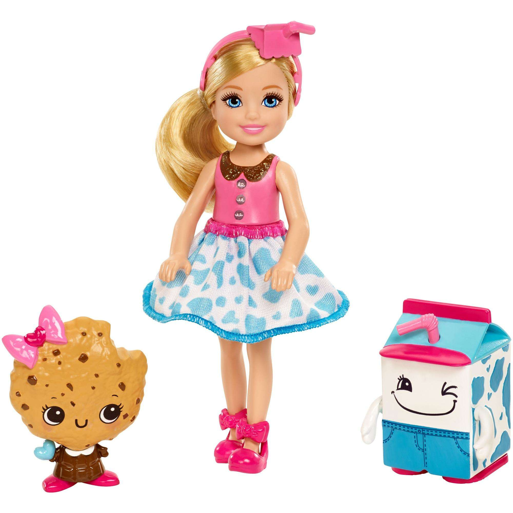 Barbie Dreamtopia Sweetville Chelsea and Cookie Friend by Mattel