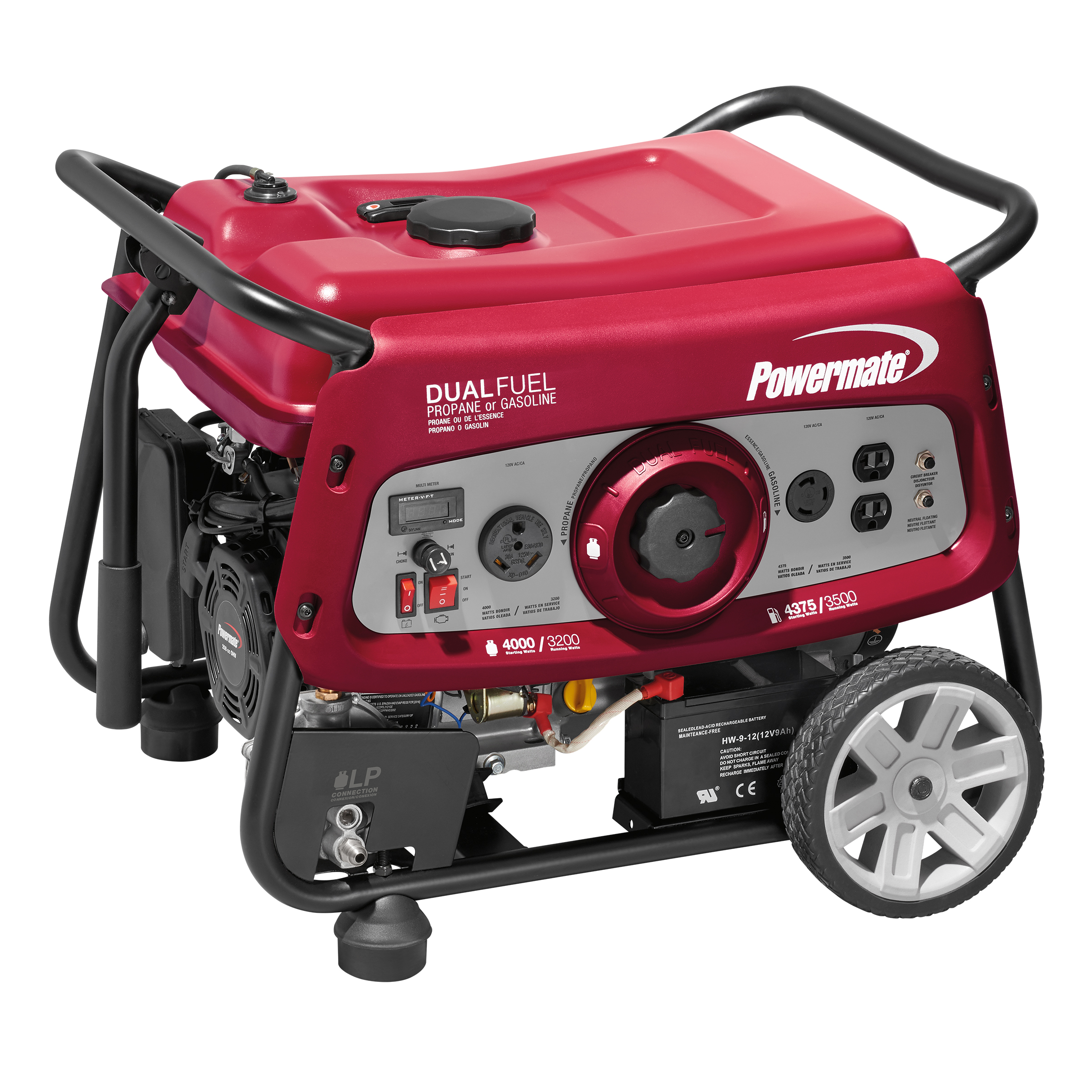 Powermate 6957 Portable Generator, 3500-Watts